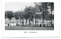Old Postcard, Belgium, Gent, Gand, - Petit Beguinage. - Gent
