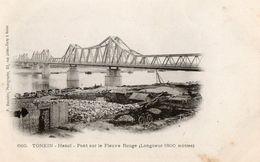 TONKIN - Hanoï - Pont Sur Le Fleuve Rouge - Viêt-Nam