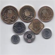 NETHERLAND ANTILLES 8 COINS HIGH GRADE SET - Antilles Neérlandaises