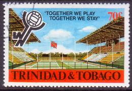 TRINIDAD & TOBAGO 1980 SG #580 70c Used Netball Tournament - Trinidad & Tobago (1962-...)