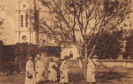 Mission Dames St Maur - Presbytère + église - Belgique