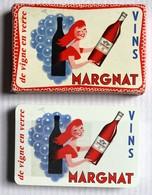 Ancien Jeu De Cartes à Jouer Publicitaire Vins MARGNAT Alcool Belote Piquet Manille - 32 Cards