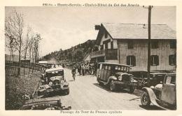 PASSAGE DU TOUR DE FRANCE CYCLISTE AU COL DES ARAVIS - Cyclisme