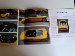 Dep031 Depliant Advertising Fioravanti Design Torino Motor Show Motore Engine Auto Car Voiture Prototipo Prototype F100r - Automobili
