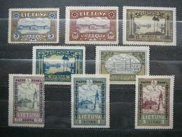 Lithuanian Child Lietuva Litauen Lituanie Litouwen Lithuania 1932 Mint No Gum # Mi. 316/3 A - Lithuania