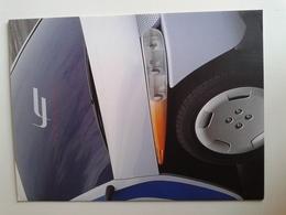 Dep032 Depliant Advertising Fioravanti Design Torino Motor Show Motore Engine Auto Car Voiture Prototipo Prototype Tris - Automobili