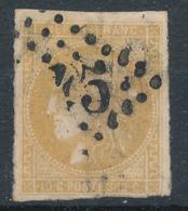 N°43 BORDEAUX  BISTRE JAUNE - 1870 Bordeaux Printing