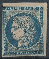 N°4 PETITS CHIFFRES 3344 INDICE 10. - 1849-1850 Cérès