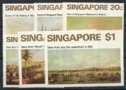 Singapour (1971) N 143 A 148 (charniere) - Singapour (1959-...)