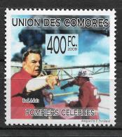 Comoros Red Adair Fire Firefighter USA 1v Stamp MNH Michel:2263 3 - Non Classificati