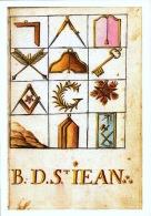 Musée De La Franc Maçonnerie -  Le Tableau Des Symboles Maçonniques Circa 1760 - Bill-855 -  R/v - Philosophy