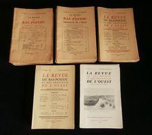 LA REVUE DU BAS-POITOU ET DES PROVINCES DE L'OUEST 1959 à 1971 31 Numéros - Poitou-Charentes