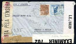 Beleg Posten 292 Belege, Vor Allem Brasilien Und Argentinien, überwiegend Bedarf. Dabei Hohe Frankatur Brasilien 6600 Re - Stamps