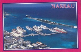 Bahamas Nassau  - Port W Cruise Ships - Bahamas