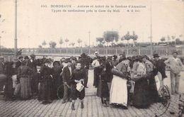 BORDEAUX - Arrivée Et Achat De La Sardine D' Arcachon - Types De Sardinières Près La Gare Du Midi - Gironde - 33 - Bordeaux
