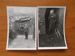 WW2  GUERRE 39 45  TREBABU SOLDATS ALLEMANDS  SAINT RENAN BREST FERME CREACH AN ILIS MAISON SOLDAT CHATEAU KERMORVAN VOI - Le Conquet