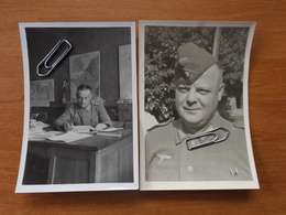 WW2  GUERRE 39 45  TREBABU SOLDATS ALLEMANDS  SAINT RENAN BREST BUREAU SOUS OFFICIERS INSTALLE  CHATEAU KERMORVAN VOI - Le Conquet