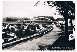 B-6625   BLEHARIES : Port Et Douane S, Firemen, Fuerwehr)) - Brunehaut