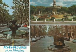 13 - AIX-EN-PROVENCE - Et Ses Fontaines - Aix En Provence