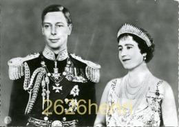 Real PhotoCard, King George VI And Queen Elisabeth Bowes-Lyon - Koninklijke Families