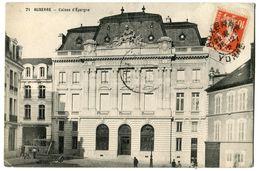 CPA 89 AUXERRE Caisse D' Epargne  1912 - Auxerre