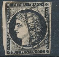 N°3 AVEC VOISIN GRILLE 1849. - 1849-1850 Ceres