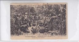 NOUVELLES HEBRIDES. ENTERRANT LEUS MORTS, MALAKULA.-RARISIME-DELUXE ETAT-BLEUP - Vanuatu