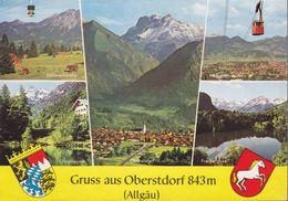 CPSM - OBERSTDORF - Allemagne - GF.898 - Oberstdorf