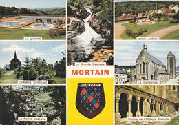 50 MORTAIN / MULTIVUES / BLASON - Autres Communes