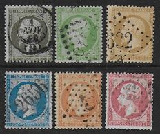 Napoléon - Lot De 6 Timbres - Cote : 132 € - 1862 Napoleon III