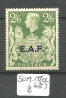 E.A.F.- SOMALILAND YT 9 En XX - Somaliland (Herrschaft ...-1959)