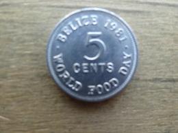 Belize  5  Cents  1981  Km 64 - Belize