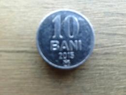 Moldavie  10  Bani  2015  Km !!! - Moldova