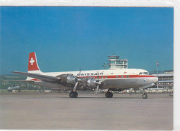 DC-7 (HB-IBK) Der Swissair      (P-120-60816) - 1946-....: Era Moderna