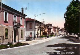 BAGNACAVALLO-RAVENNA-VIA ITALO CRISTOFORI-CARTOLINA VERA FOTOGRAFIA-VIAGGIATA IL 8-1-1963 - Ravenna