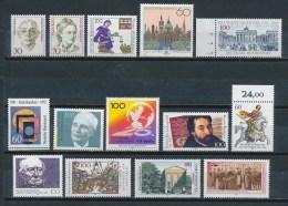 Duitsland/Germany/Allemagne/Deutschland 1991  Mi: 1488 - - 1575 33x (3 Scans)(PF/MNH/Neuf Sans Ch/**)(3441) - [7] Federal Republic