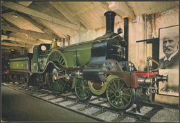 Great Northern Railway Locomotive No 1, C.1970 - J Arthur Dixon Postcard - Trains