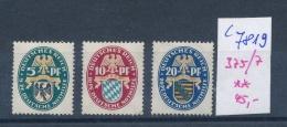 D.-Reich   Nr. 375-77 **  (c 7819 ) Siehe Scan - Ungebraucht