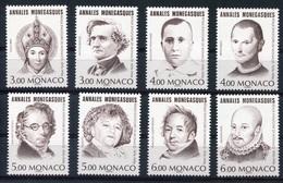 RC 8059 MONACO 2041 / 2048 PERSONNAGES CÉLÈBRES PROVENANT DU BLOC 1996 NEUF ** MNH TB - Monaco