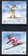 BOSNIAN SERB REPUBLIC 2006 Winter Olympic Games MNH / **.  Michel 360-61 - Bosnia And Herzegovina