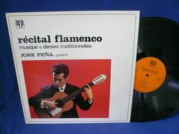 Jose Pena Guitare 33t Vinyle Recital Flamenco - Vinyles