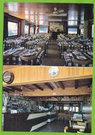 GRUISSAN PLAGE - Hôtel Restaurant Du Terrain Rond Prop. Mme Garrouste Carte Circulé 1970 - France