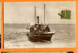 """P021, Arcachon, Bateau """" L'Oasis"""", 31, Boat, Animée, Circulée - Arcachon"""