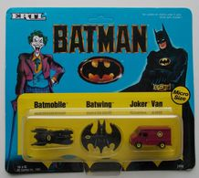 - ERTL - BATMAN - Batmobile. Batwing. Joker Van - 1989 - NEUF - - Collectors Et Insolites - Toutes Marques