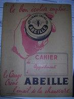 Protège- Cahier  CIRAGE CREME ABEILLE - Protège-cahiers