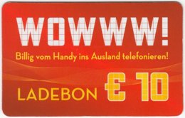 AUSTRIA N-686 Recharge Wowww! - Used - Austria