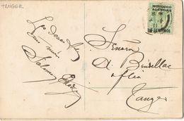 27953. Postal TANGER (Marruecos Ingles) 1911. Relieve Flor - Morocco Agencies / Tangier (...-1958)