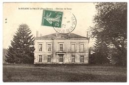 ST-HILAIRE-LA-PALUD (79) - Château De Sazay - Other Municipalities