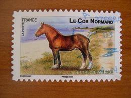 France Obl   N°  814  Cachet Rond Bleu - France