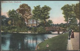 Weston Park, Sheffield, Yorkshire, C.1905 - Scott Russell & Co Postcard - Sheffield